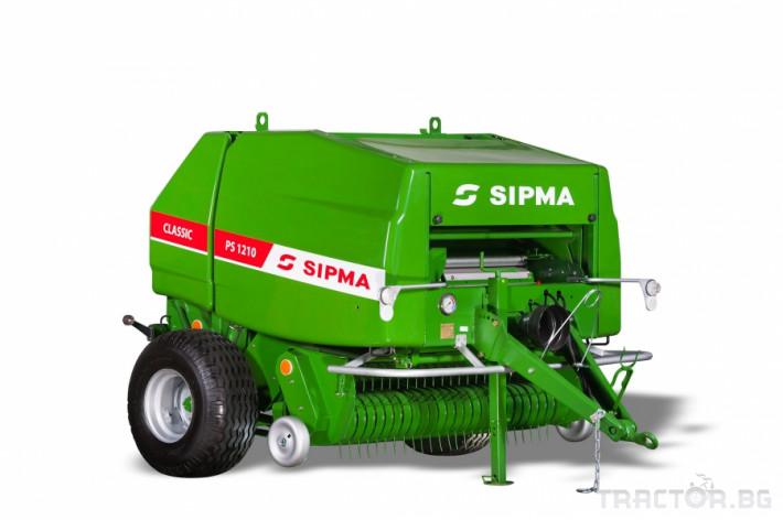 Сламопреси Сламопреса SIPMA PS1210 Classic 0 - Трактор БГ