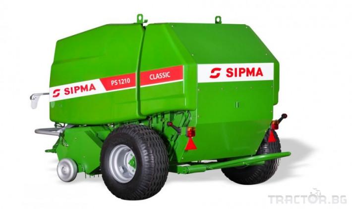 Сламопреси Сламопреса SIPMA PS1210 Classic 1 - Трактор БГ