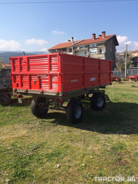 Ремаркета и цистерни РЕМБИ AT2RT8 0 - Трактор БГ