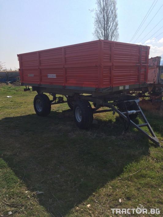 Ремаркета и цистерни РЕМБИ AT2RT8 4 - Трактор БГ